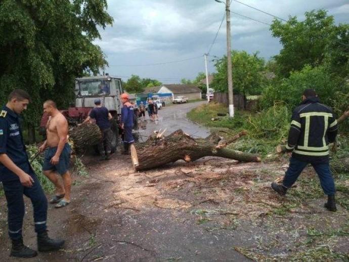На Вінниччині через негоду знеструмлено 72 населених пункти