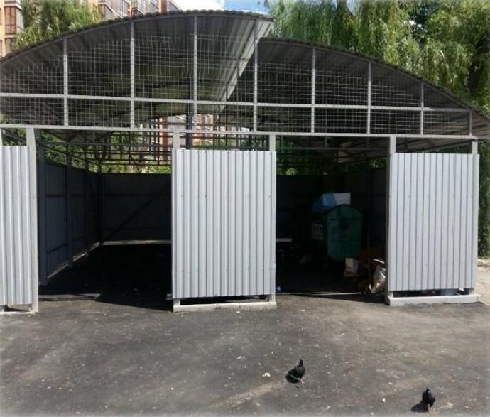 У Вінниці модернізують контейнерні майданчики