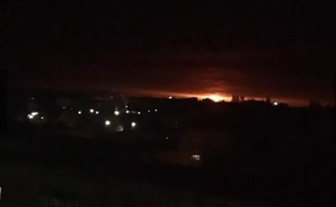Через рік після Калинівки вибухнув склад у Чернігівській області (Фото+Відео)