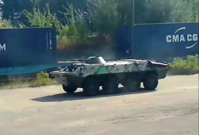 Очевидці виклали в Мережу навчання СБУ у Вінниці (Відео)
