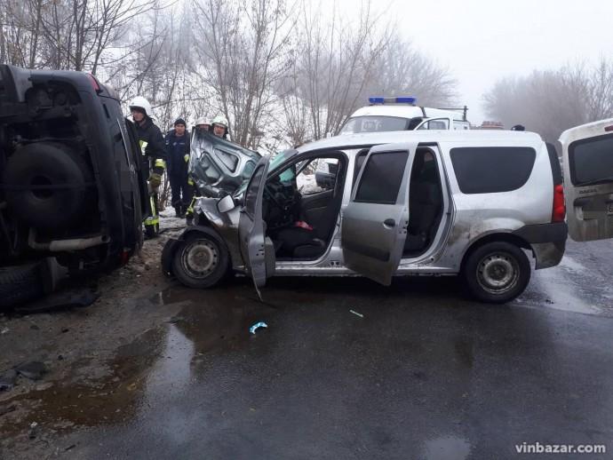 На Вінниччині у ДТП загинуло двоє людей (Фото)
