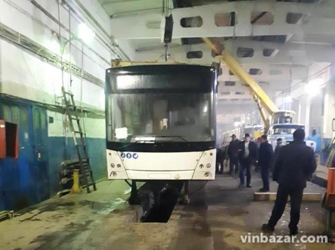 У Вінниці вироблятимуть власні тролейбуси (Фото+Відео)