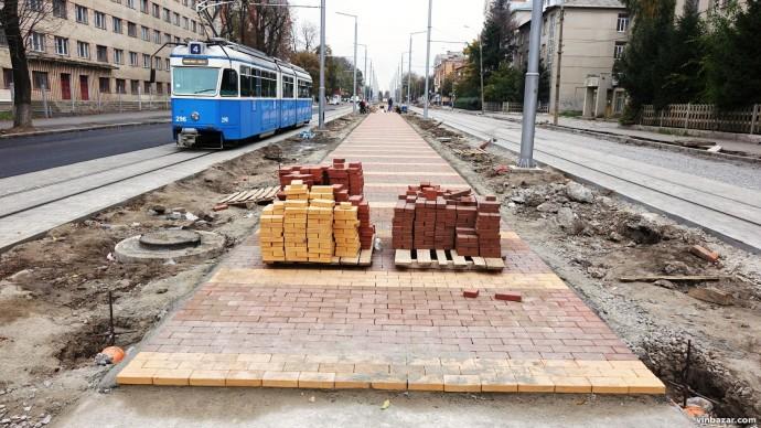 З 10 грудня на Замостянській відновлять рух громадського транспорту