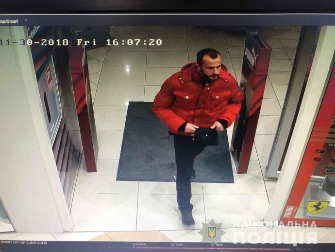 У Вінниці розшукують крадія (Фото)