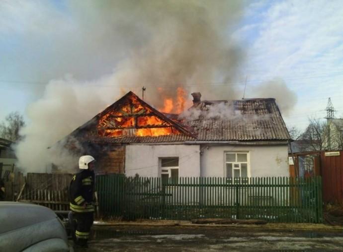 На Вінниччині спалахнув приватний будинок