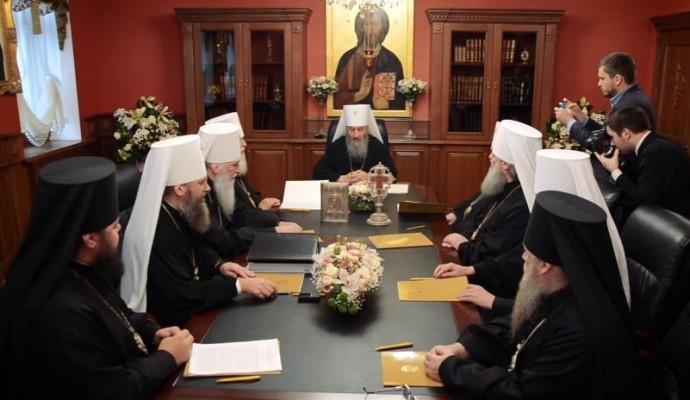 Собор УПЦ МП звільнив Симеона з керування Вінницькою єпархією