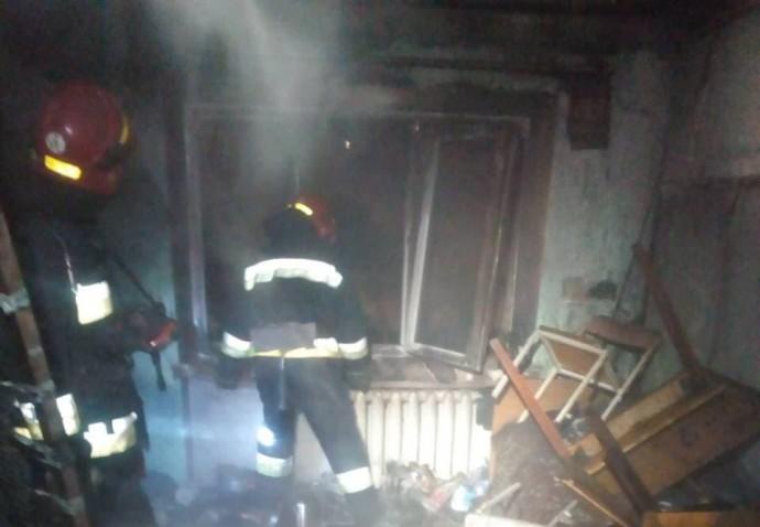 У Вінниці сталася пожежа у студентському гуртожитку (Фото)