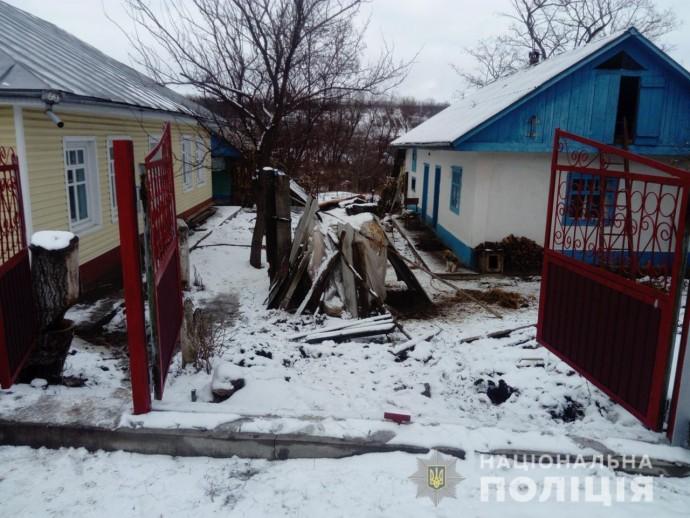На Вінниччині чоловік сокирою вбив рідну матір
