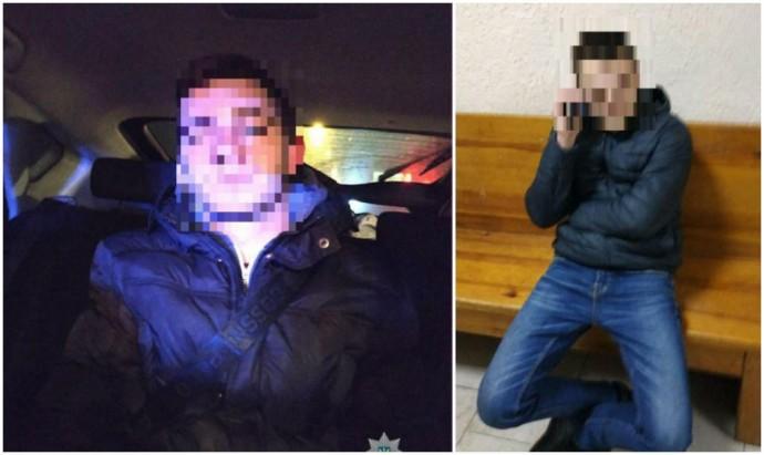 У Вінниці двоє молодиків каталися містом напідпитку (Фото)