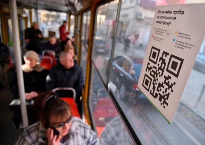 У транспорті Вінниці з`являться наліпки з QR-кодом для оплати проїзду за допомогою смартфону (Відео)