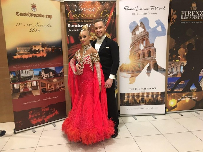 Пара з Вінниці перемогла на чемпіонаті Європи зі спортивних танців