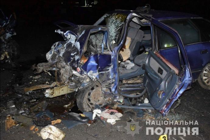 Відомі подробиці потрійної ДТП на Вінниччині: двоє загиблих, троє травмованих (Фото)