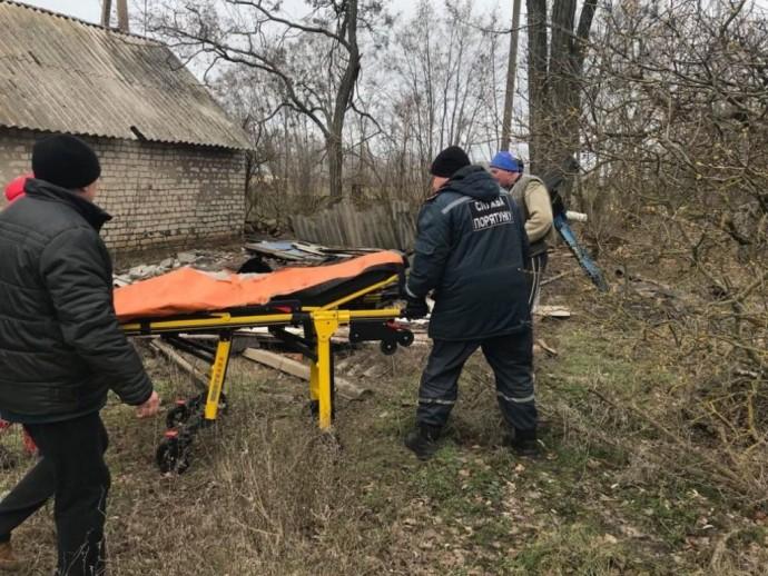 В Запорожской области мужчина погиб под грудой кирпичей собственного дома (Фото)
