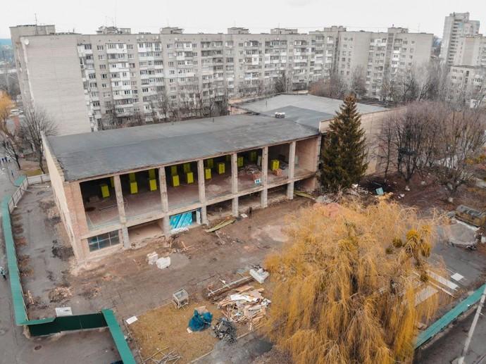 У Вінниці оновлюють спортивний комплекс по вулиці Академіка Янгеля
