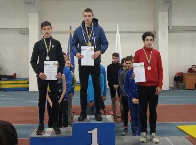 Вінничанин отримав перемогу на чемпіонаті з легкоатлетичного двоборства