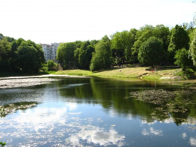 Вінничани просять зберегти озеро на Старому місті | Всі Новини Вінниці