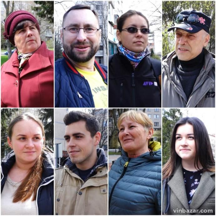 Опитування: за кого голосуватиме Вінниця 21 квітня (Відео)