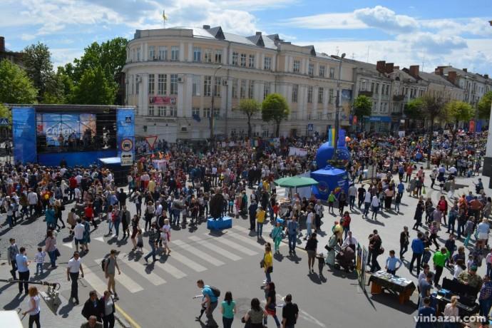 На День Європи проїзд для вінничан стане безкоштовним