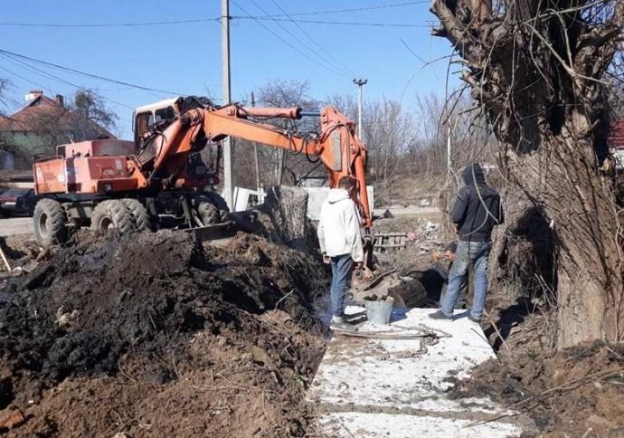 У Вінниці будують зливову каналізацію по вулиці Лук'яновського