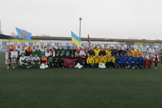 У Вінниці відкрили чемпіонат України героїв АТО з футболу