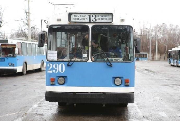 22 травня перекриють рух тролейбусів до Аграрного університету