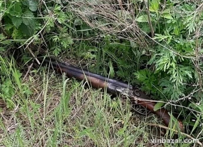 На Вінниччині затримали чоловіка, який стріляв з мисливського обрізу (Фото)