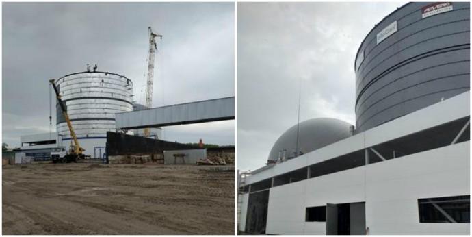 На Вінниччині будують біогазову станцію. Електрику видобуватимуть із жому та силосу