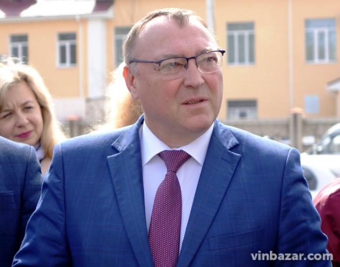 Голова Вінницької ОДА написав заяву про складання повноважень