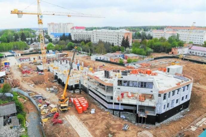 Новий корпус кардіоцентру у Вінниці відкриють восени 2020 року