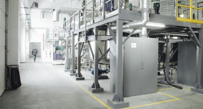 Высокотехнологичное производство фунгицидов
