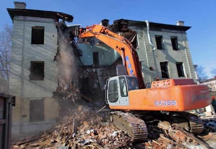 Демонтаж дома быстро и слаженно