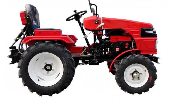 Комплектация современного мини-трактора