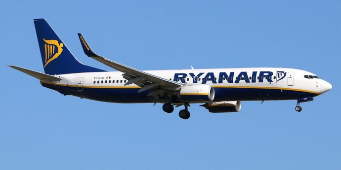 Ryanair начала летать еще из одного украинского города