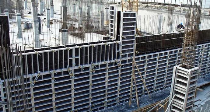Алюминиевая опалубка для монолитного строительства: виды, требования, преимущества