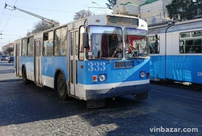 Через реконструкцію Замостянської відмінять рух 15 тролейбуса