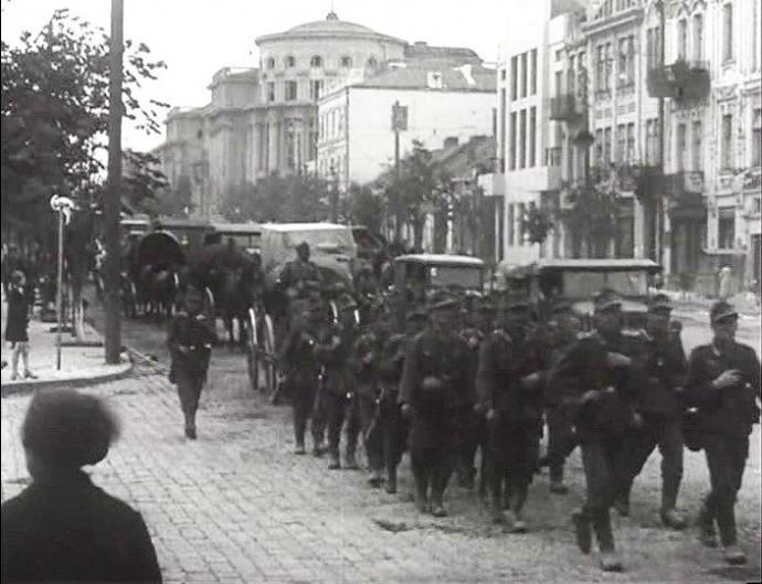 У Вінниці знімають художній фільм про розстріли під час окупації 1941 року (Фото+Відео)