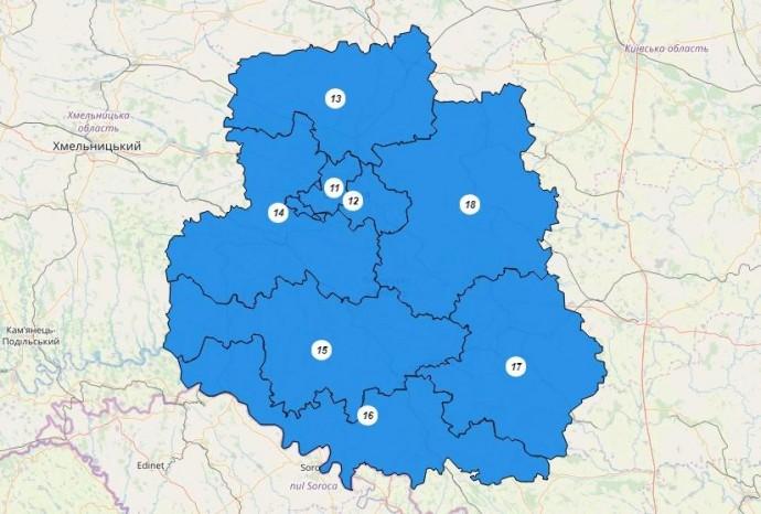 21 липня Вінниччина обиратиме своїх представників до Верховної Ради. Повний список кандидатів-мажоритарників
