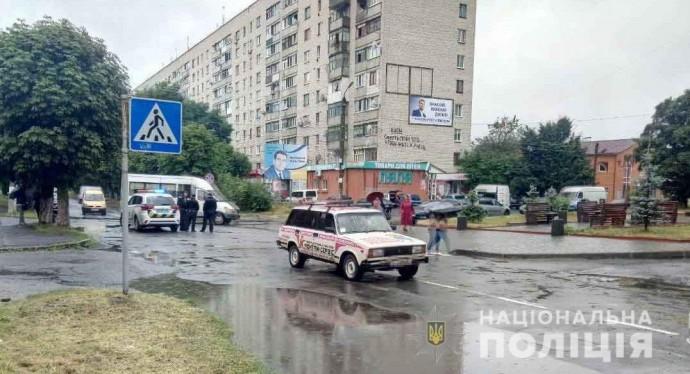 В Козятині 89-річного пенсіонера збили на пішохідному переході (Фото)