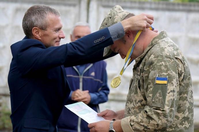 У Вінниці відбулись змагання зі стрільби серед військових гарнізону (Фото)