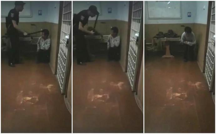 Через скандальний ролик в Інтернеті зняли керівництво Ямпільської поліції та двох патрульних (Відео)