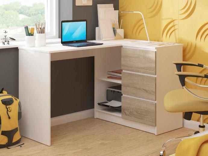 Преимущества углового компьютерного стола для дома и офиса