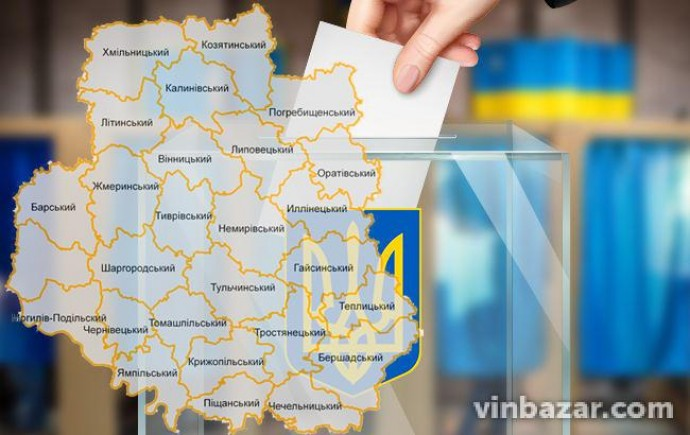Як проголосували на Вінниччині: результати виборів до Верховної Ради станом на 12:00