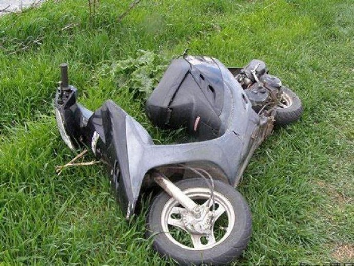 У Вінниці правопорушник викрав скутер, бо хотів пожартувати