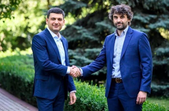 Володимир Гройсман закликає вінничан проголосувати за кандидата, якого він підтримує - Леоніда Марцинковського