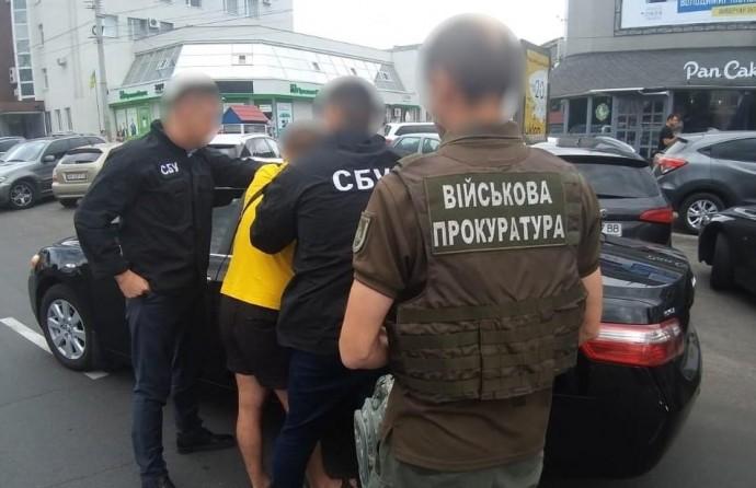 У Вінниці на хабарі спіймали майора поліції (Фото)
