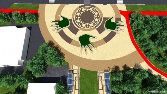 Планують реконструювати парк Дружби народів. Проект (Фото)