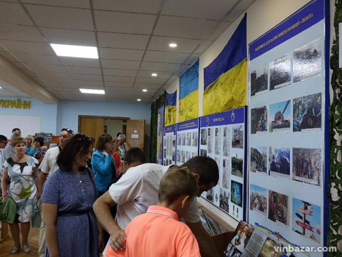 У Вінниці відкрили Залу Бойової слави Повітряних Сил (Фото)