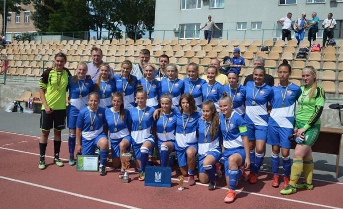 Жіноча футбольна команда з Вінниці перемогла у Всеукраїнському турнірі