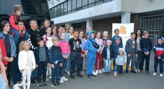 Сорок дітей військових з Вінниччини поїхали на відпочинок до Румунії