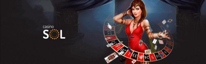 Онлайн игры на Sol Casino - лучший способ интересно провести время